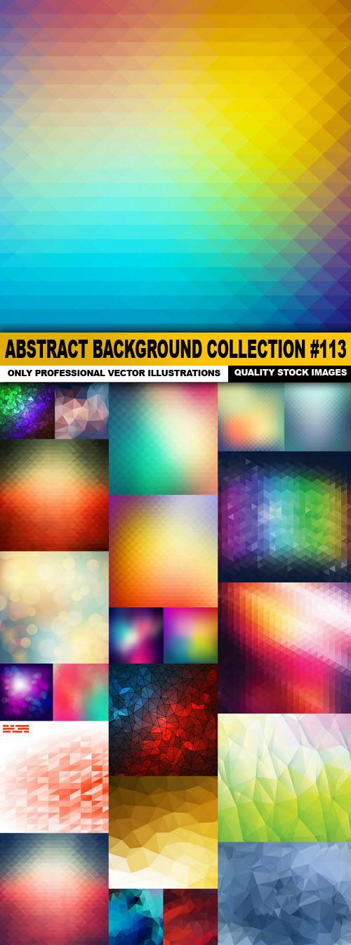 Abstract Background Collection #113 – 25 Vector