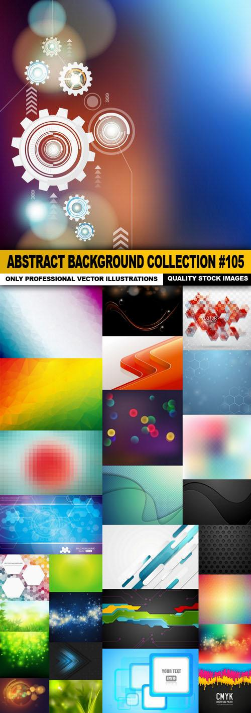 Abstract Background Collection #105 – 28 Vector