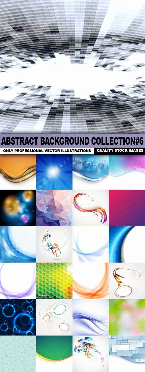 Abstract Background Collection#6 – 25 Vector