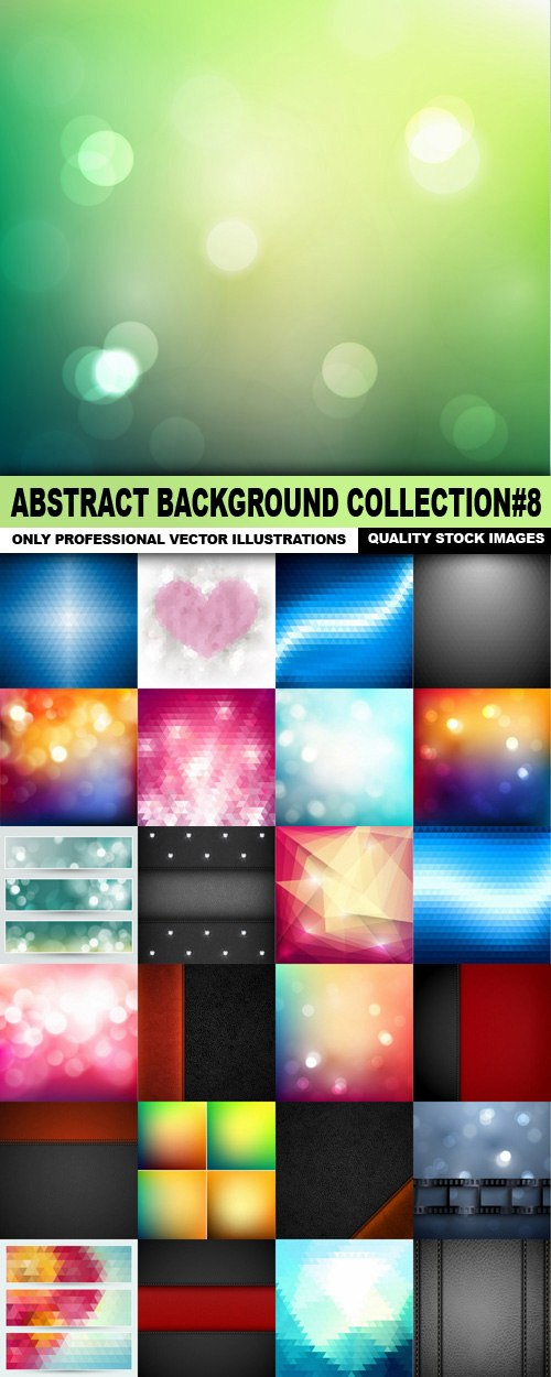 Abstract Background Collection#8 – 25 Vector