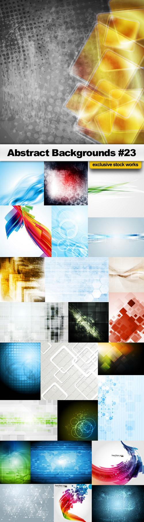 Abstract Backgrounds #23 – 25 EPS