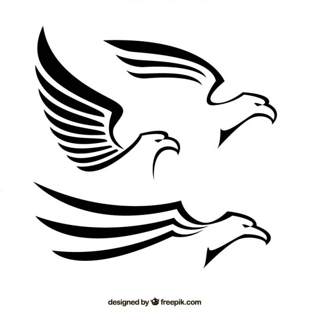 Abstract eagles