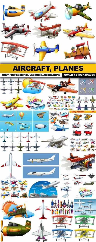 Aircraft, Planes – 30 Vector