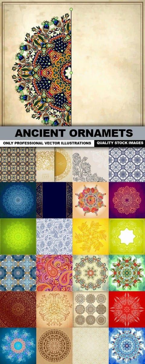 Ancient Ornamets – 25 Vectors