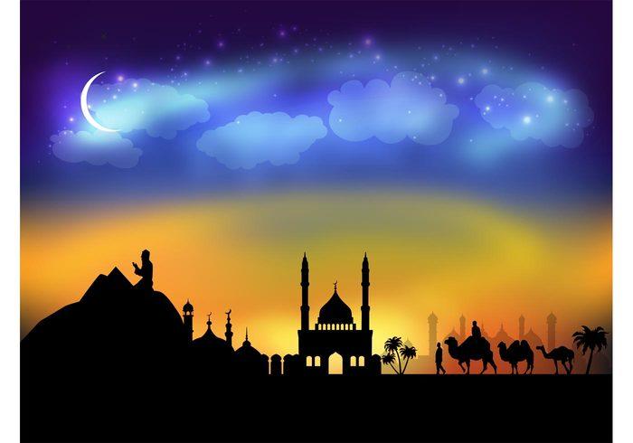 Arabic Night Vector