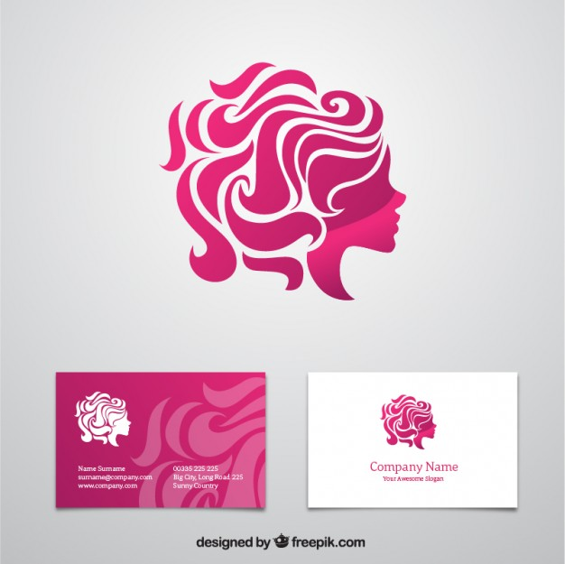 Beauty business card  Vector | Free Download