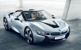 BMW i8 Spyder Concept Car Wallpapers | HD Wallpapers