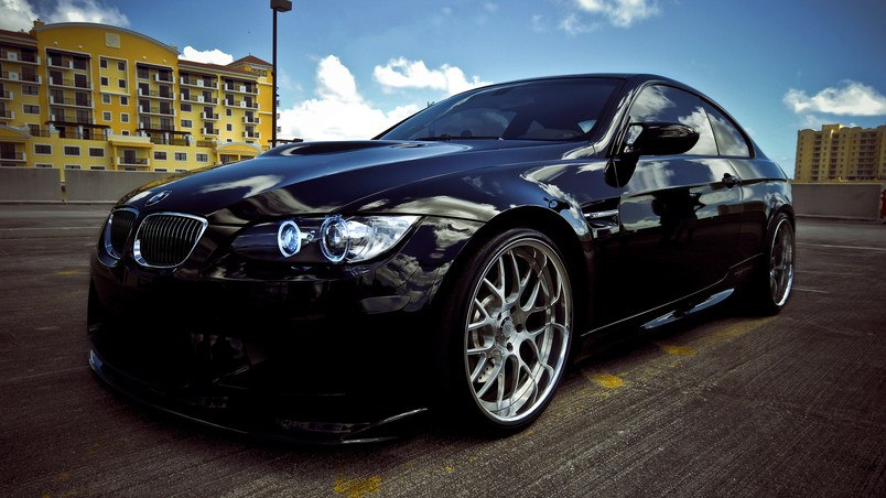 BMW M3 2010 Black HD Wallpaper