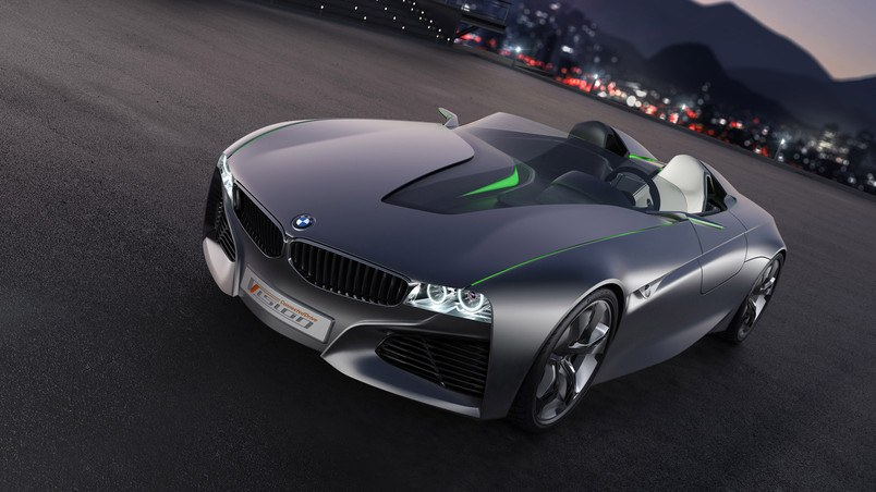 BMW Vision Connected Drive Concept HD Wallpaper