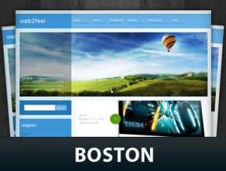 Boston WordPress Themes