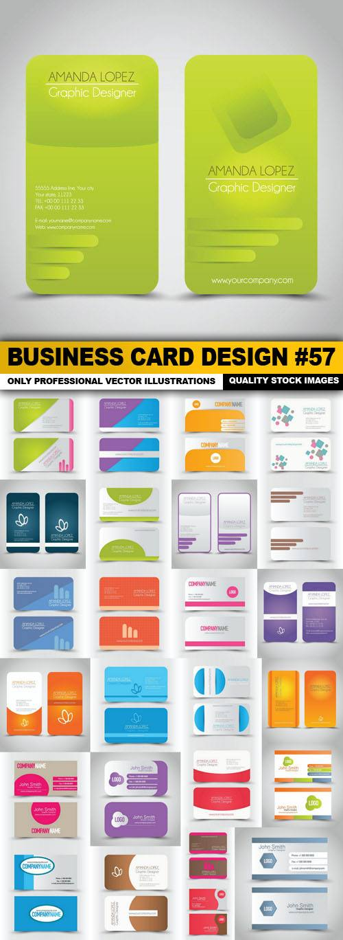 Business Card Design #57