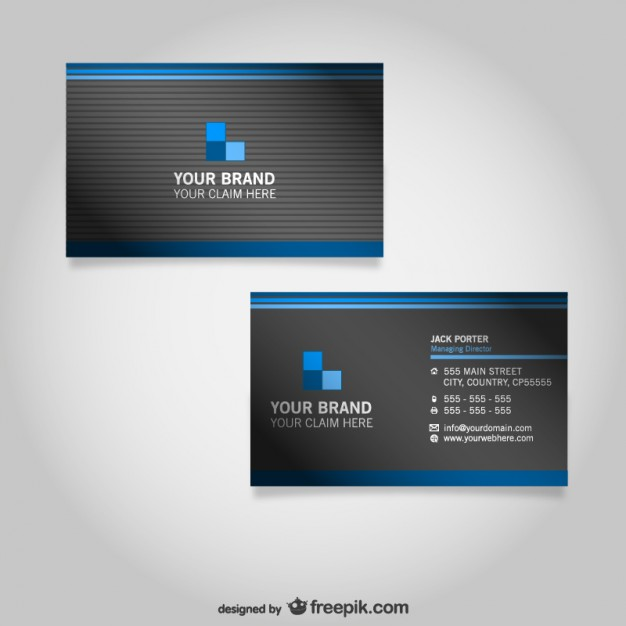 Business card free graphics  Vector | Free Download