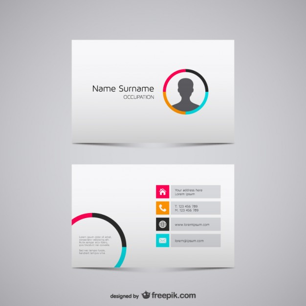Business card vector graphics  Vector | Free Download