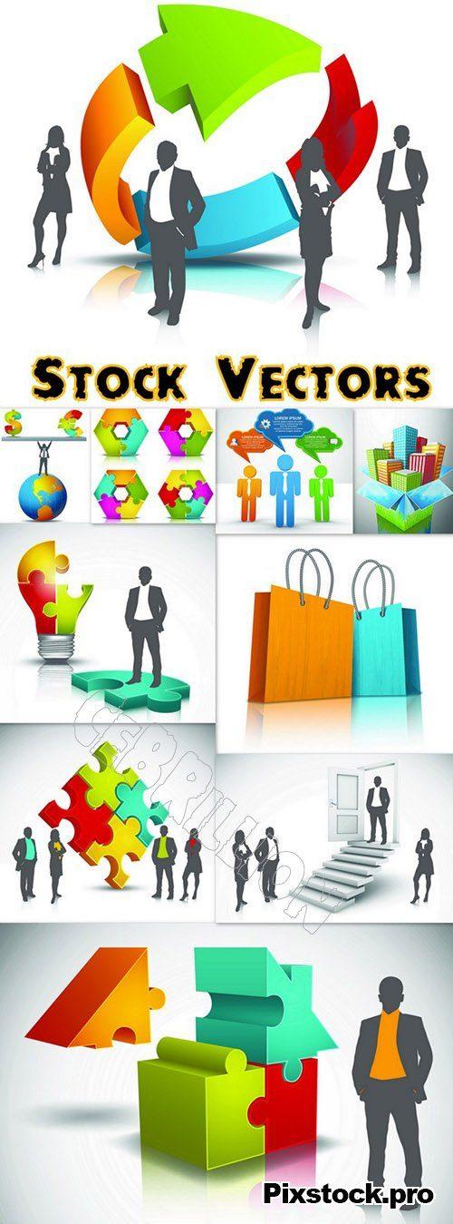 Business concept set #1