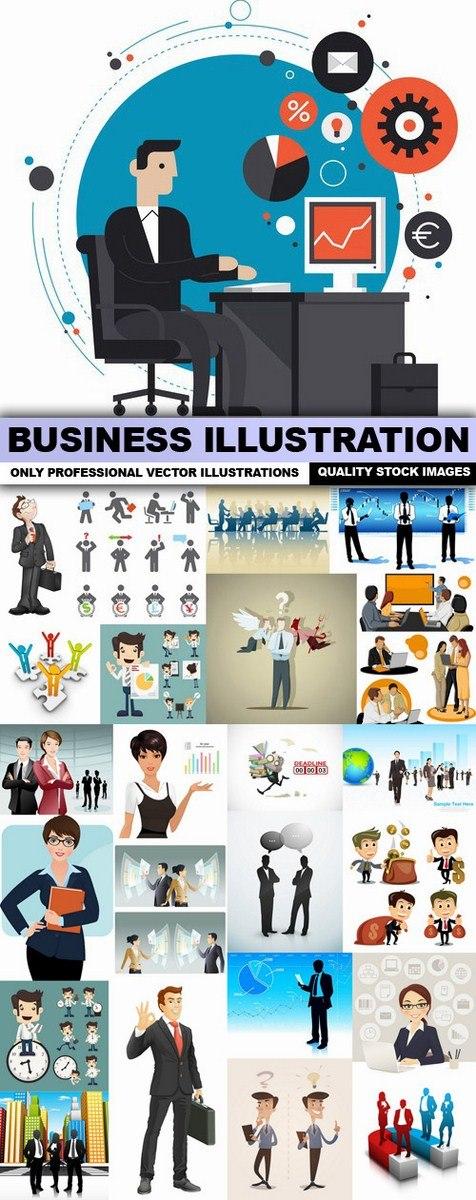 Business Illustration – 25 Vector