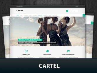 Cartel WordPress Themes