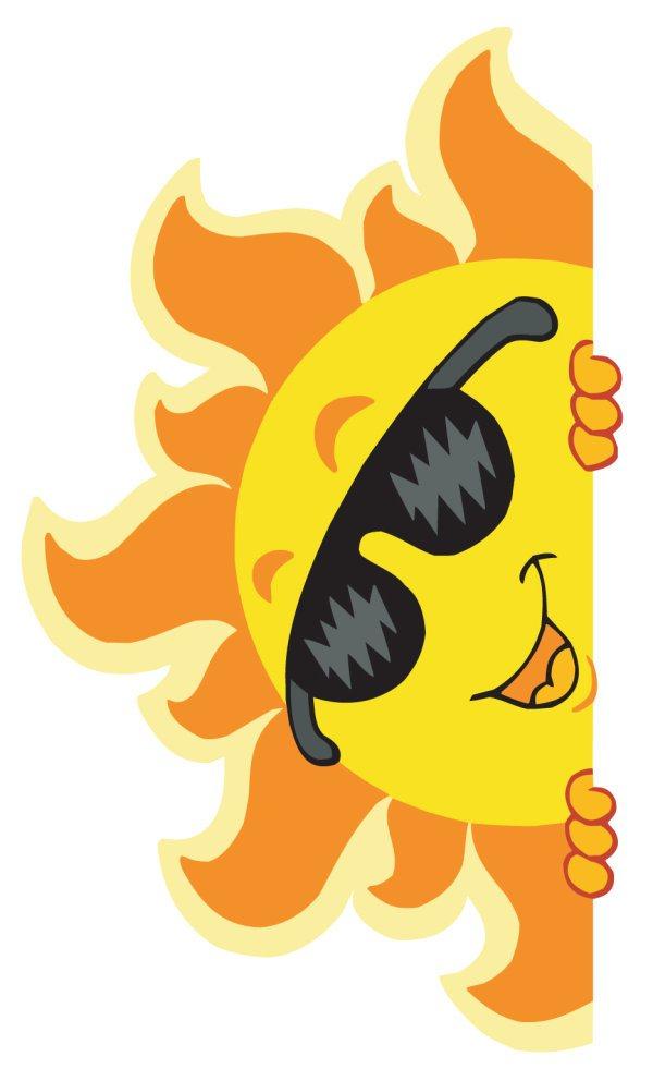 cartoon Summer elements vector 03