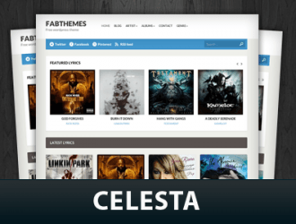 Celesta WordPress Themes