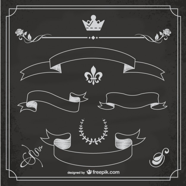 Chalkboard vector design   Vector | Free Download