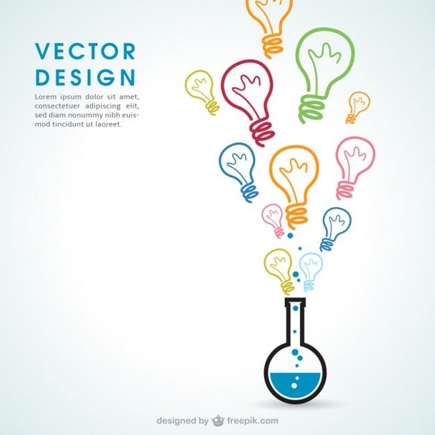 Chemistry ideas  Vector