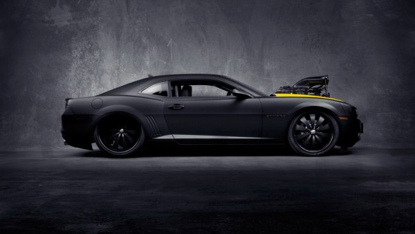 Chevrolet Camaro Black Concept – Desktop Wallpapers HD Free Backgrounds