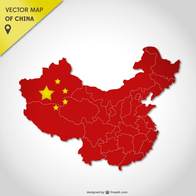 China vector map   Vector | Free Download