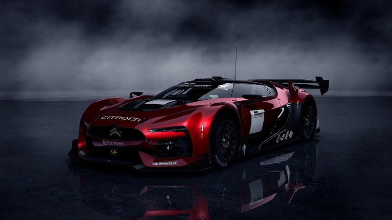 Citroen GT Gran Turismo 5 HD Wallpaper