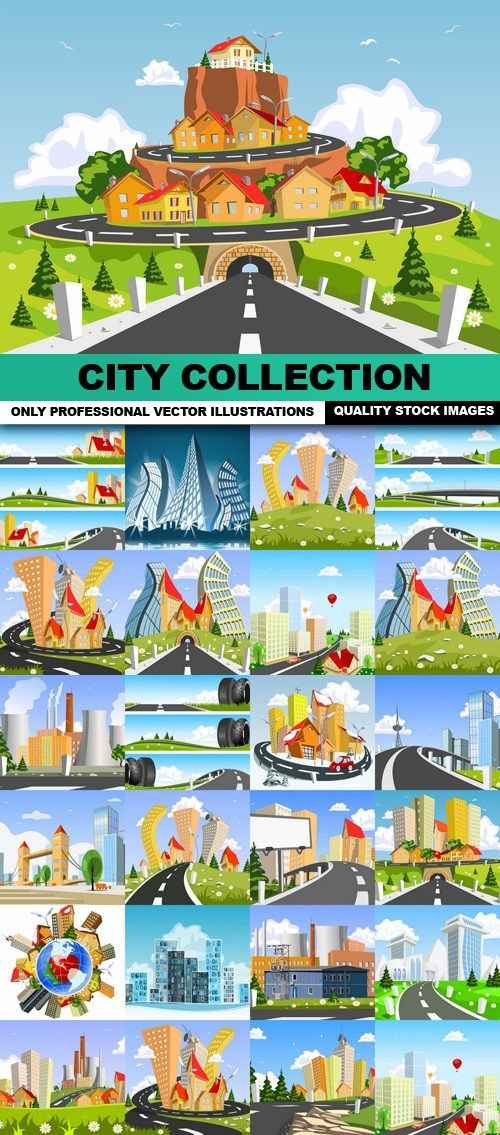 City Collection – 25 Vector