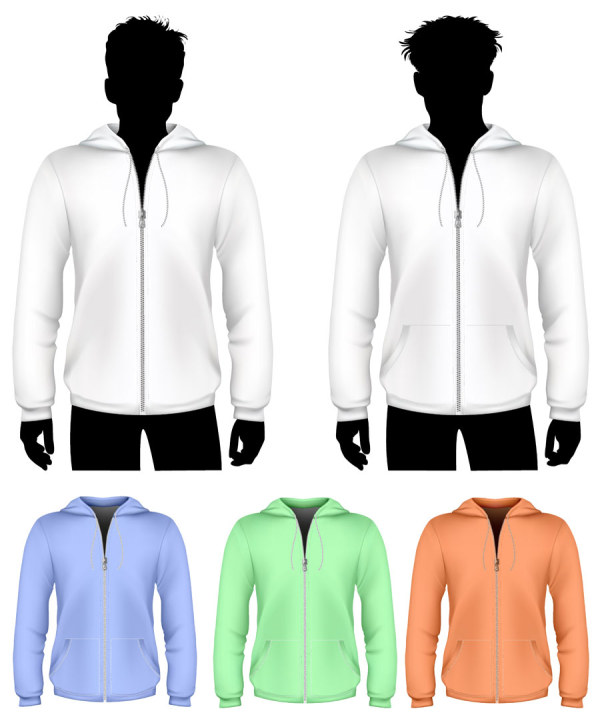 Clothes template design vector 16