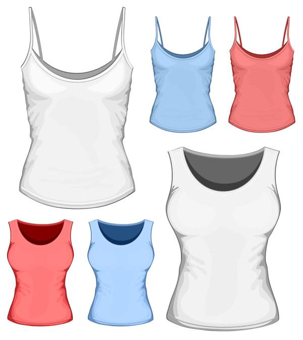 Clothes template design vector 05