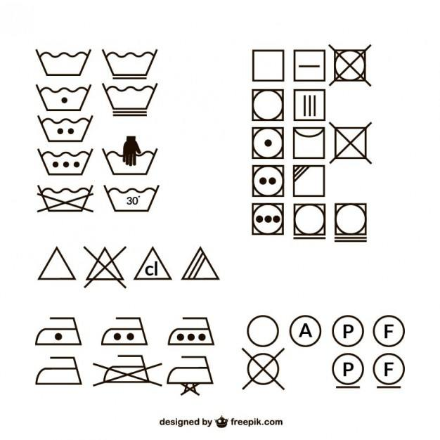 Clothes wash vectors collection  Vector | Free Download