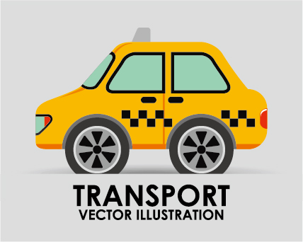 Collection of transportation vehicle vector material 06