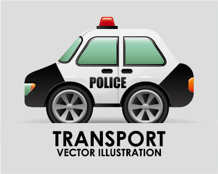 Collection of transportation vehicle vector material 05