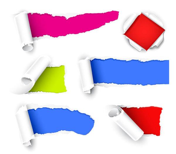 Color Stickers vector 02