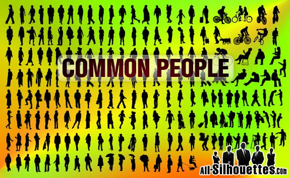 Common People for Architecture – All-Silhouettes