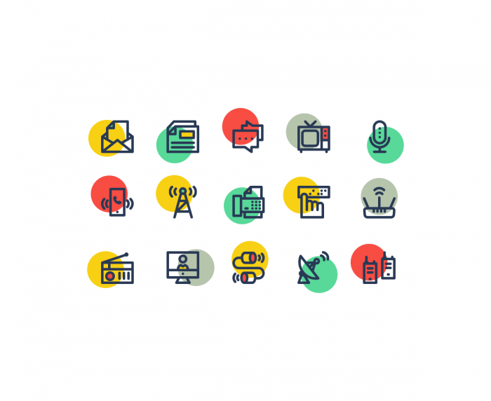 Communication Icons | IconStore