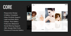 Core Minimalist Photography Portfolio – WordPress | ThemeForest