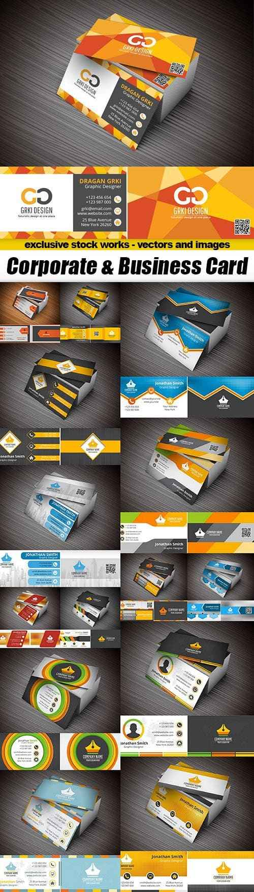 Corporate & Business Card – 15xEPS