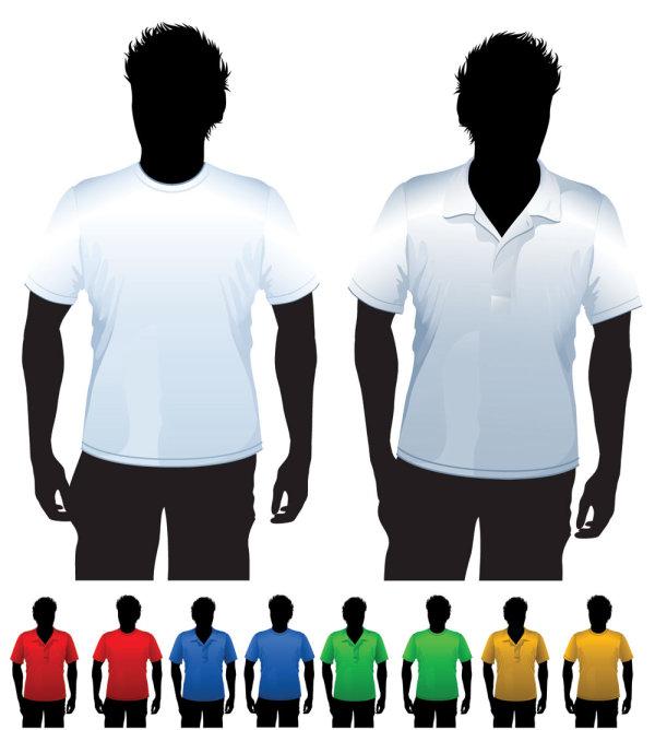Creative Clothes design elements vector set 24