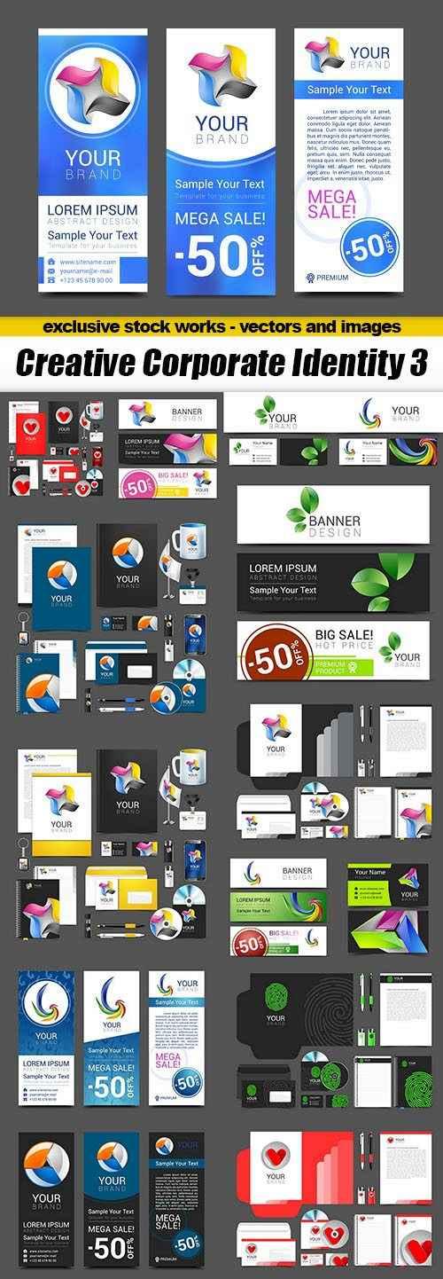 Creative Corporate Identity 3 – 16xEPS