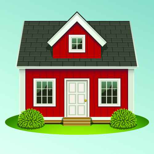 Creative of Houses design elements vector 03