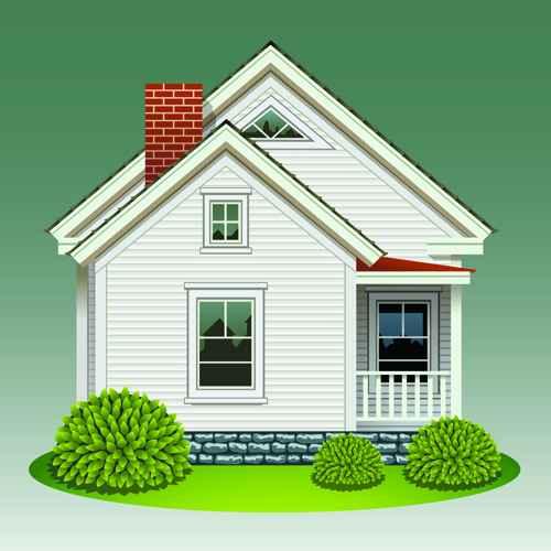 Creative of Houses design elements vector 02