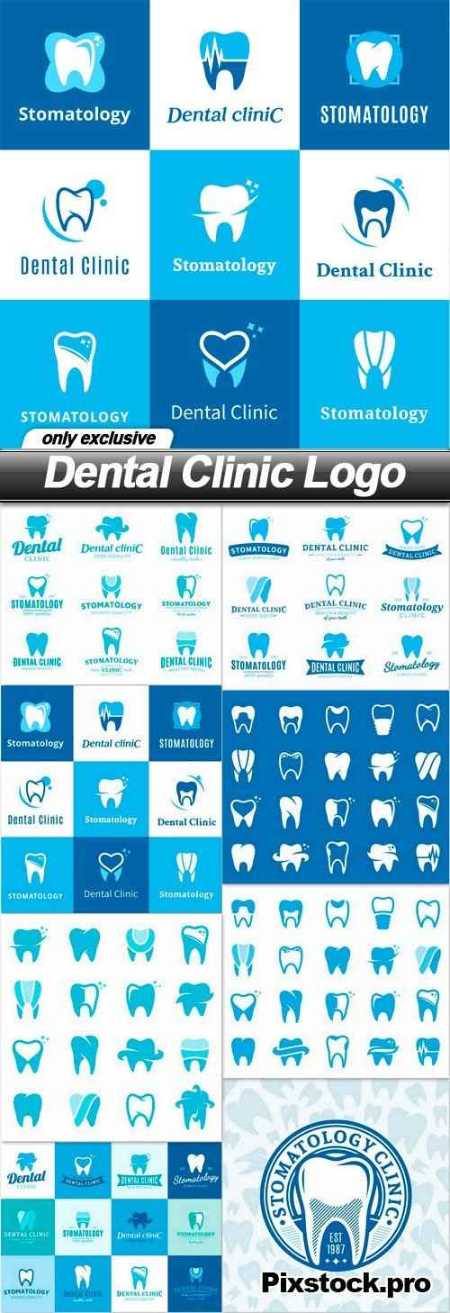Dental Clinic Logo – 8 EPS