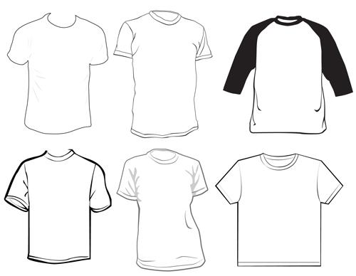 Different Clothes elements vector 07