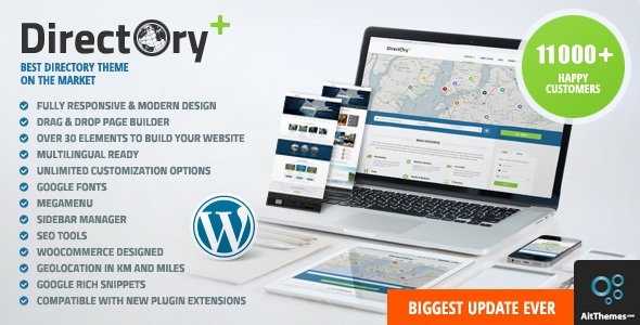 Directory Portal WordPress Theme – WordPress | ThemeForest