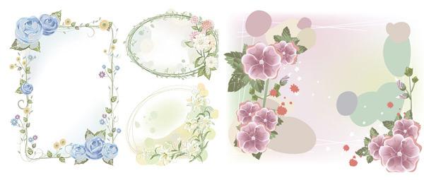 Dream flower vector