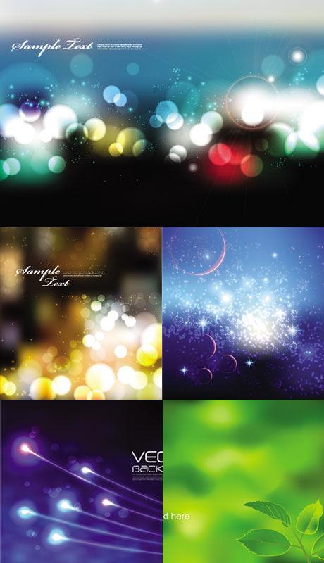 Dream of background fluorescence vector