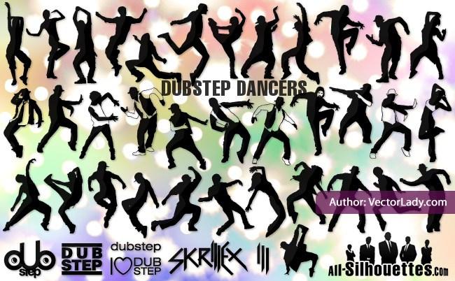 Dubstep dancers