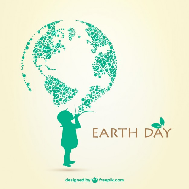 Earth day illustration  Vector | Free Download
