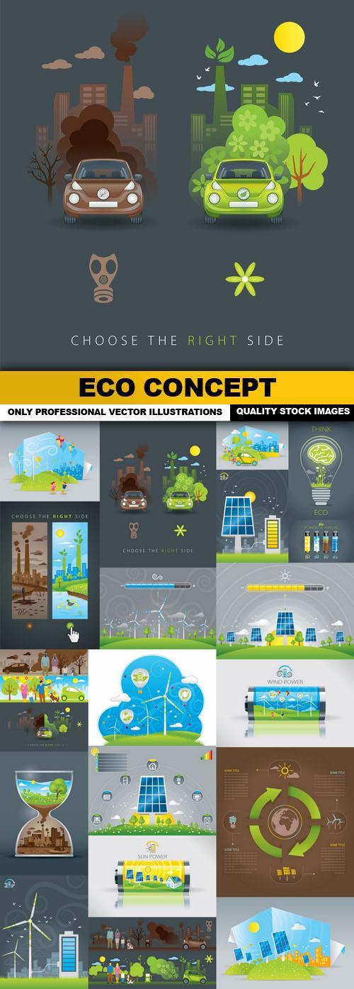 ECO Concept – 25 Vector